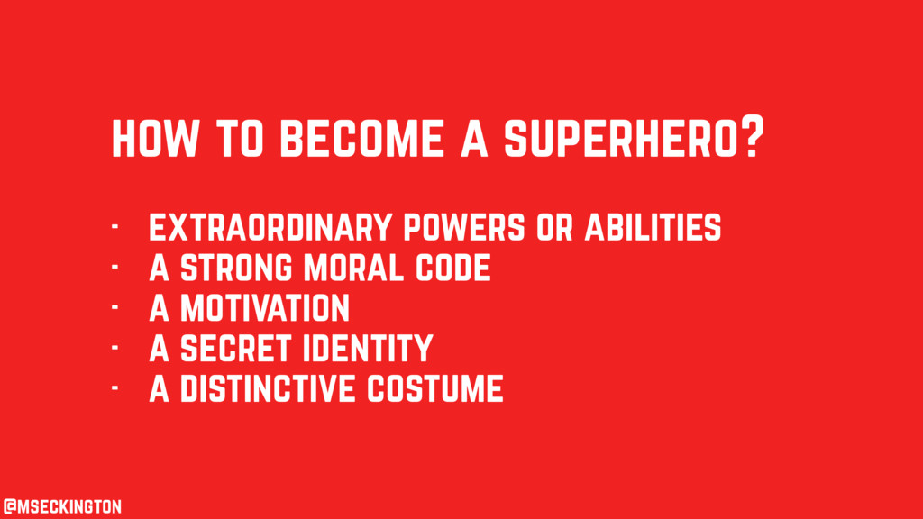 how to become a superhero? - extraordinary powe...