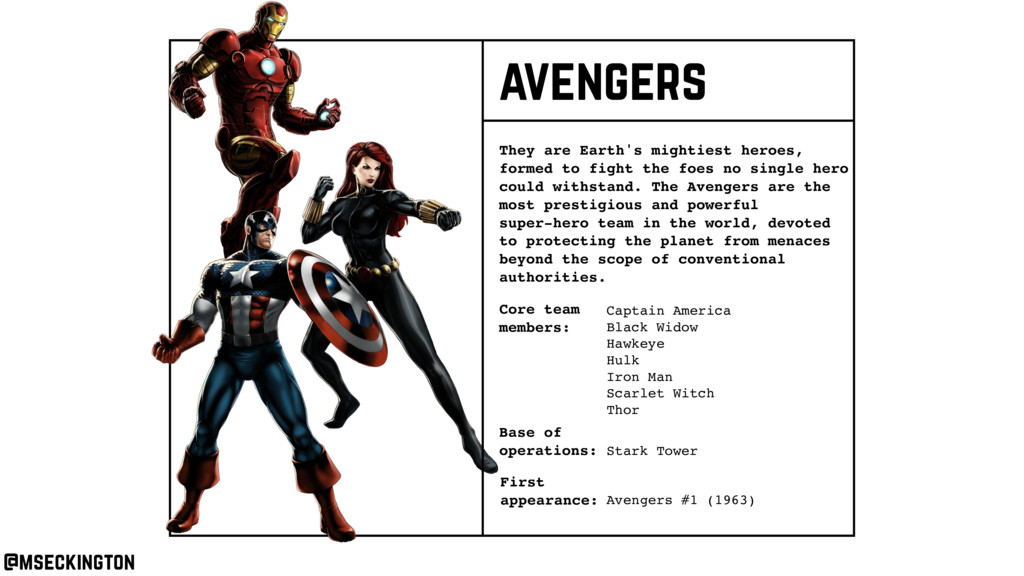 Core team members: They are Earth's mightiest h...