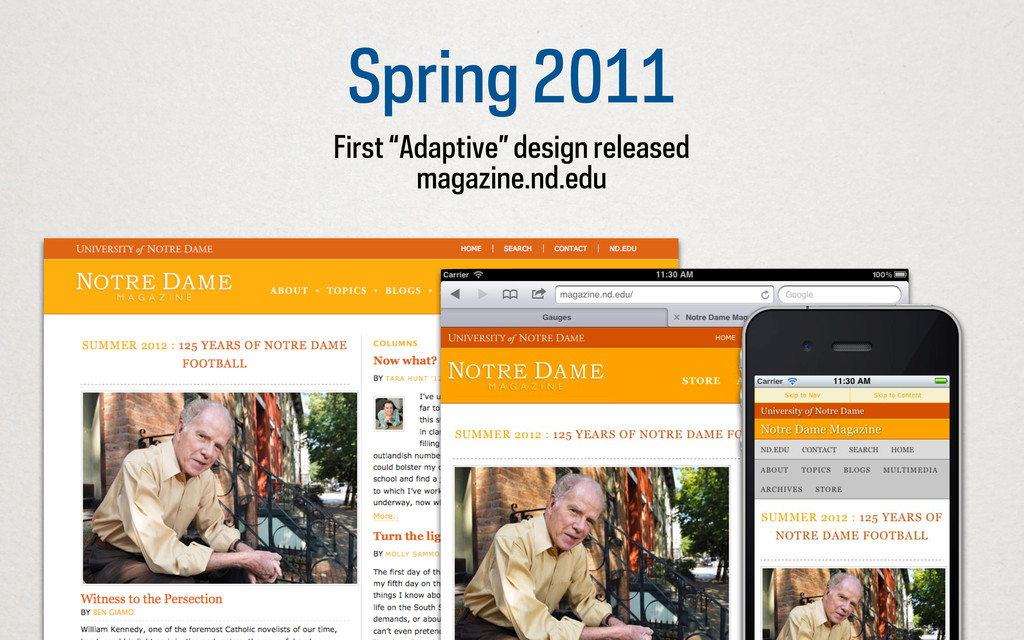 """Spring 2011 First """"Adaptive"""" design released ma..."""