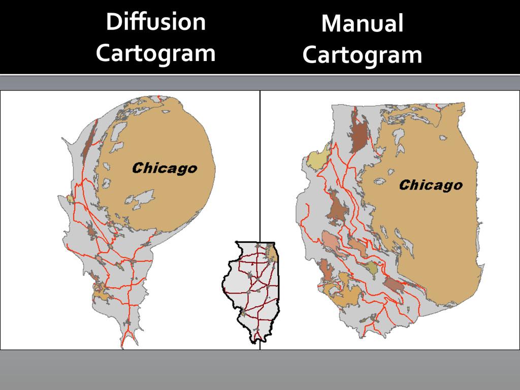 Diffusion  Cartogram  Manual   Carto...