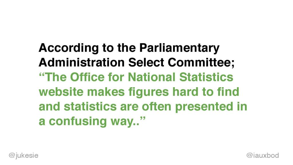 @jukesi e According to the Parliamentary Admini...