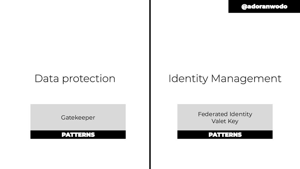 Federated Identity Valet Key Gatekeeper