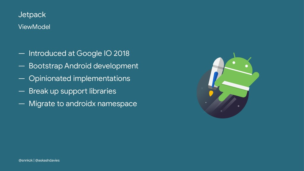 Jetpack ViewModel — Introduced at Google IO 201...