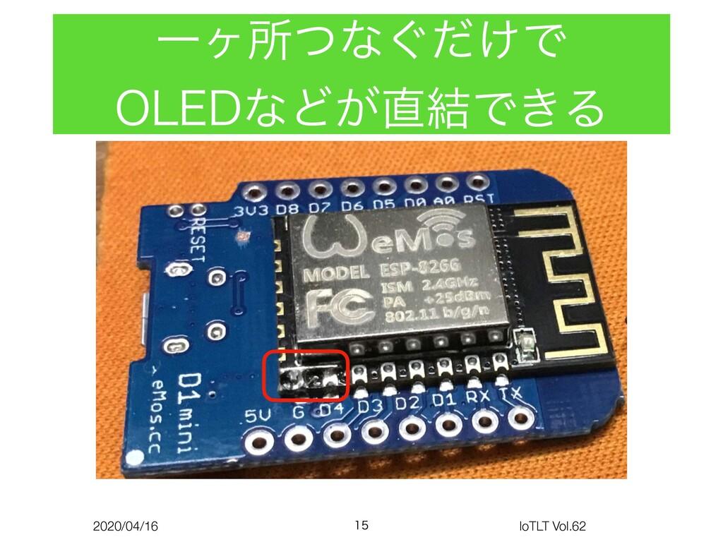 2020/04/16 IoTLT Vol.62 Ұϲॴͭͳ͙͚ͩͰ 0-&%ͳͲ͕݁Ͱ͖Δ...