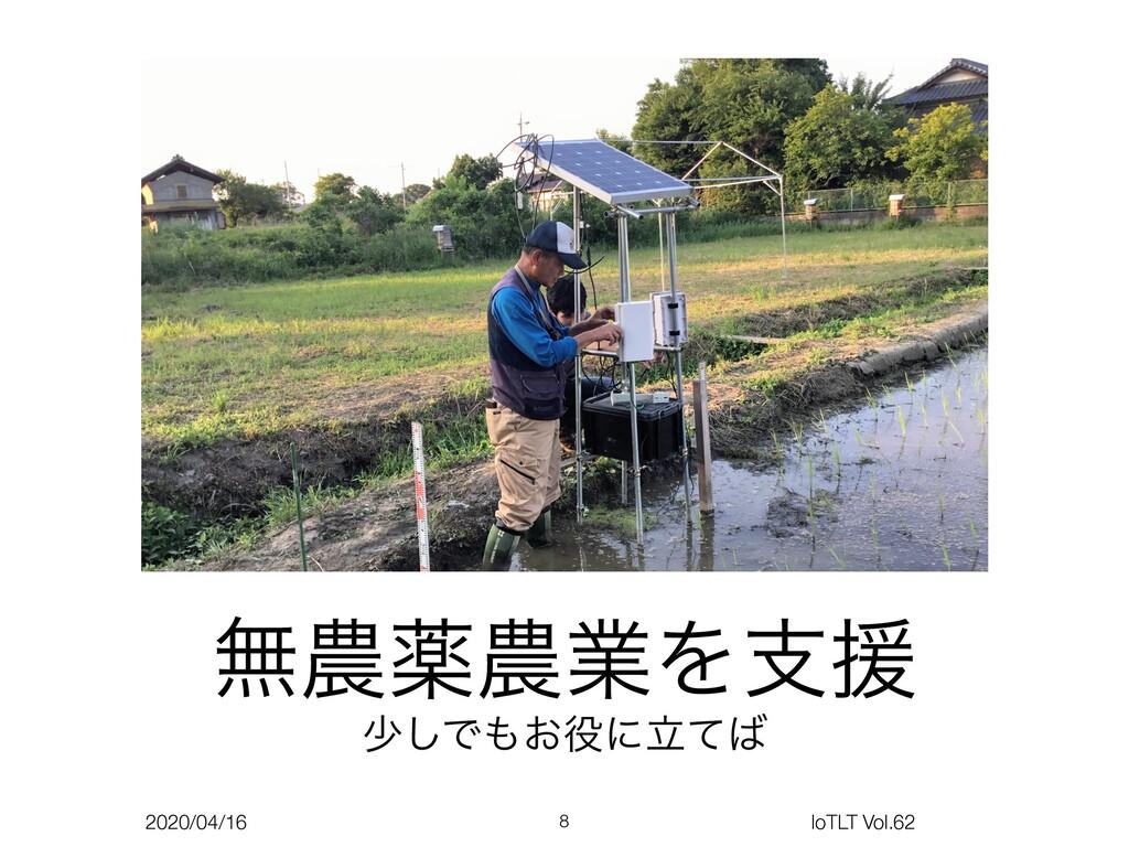 2020/04/16 IoTLT Vol.62 ແༀۀΛࢧԉ গ͠Ͱ͓ʹཱͯ 8