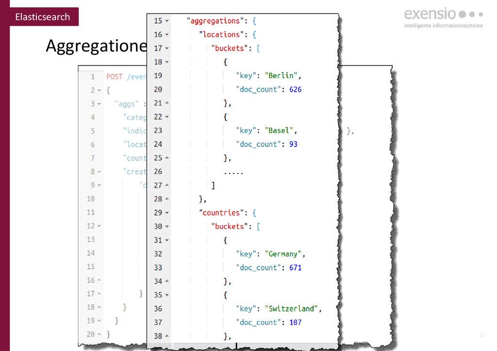 12 Aggregationen für Analysen Elasticsearch