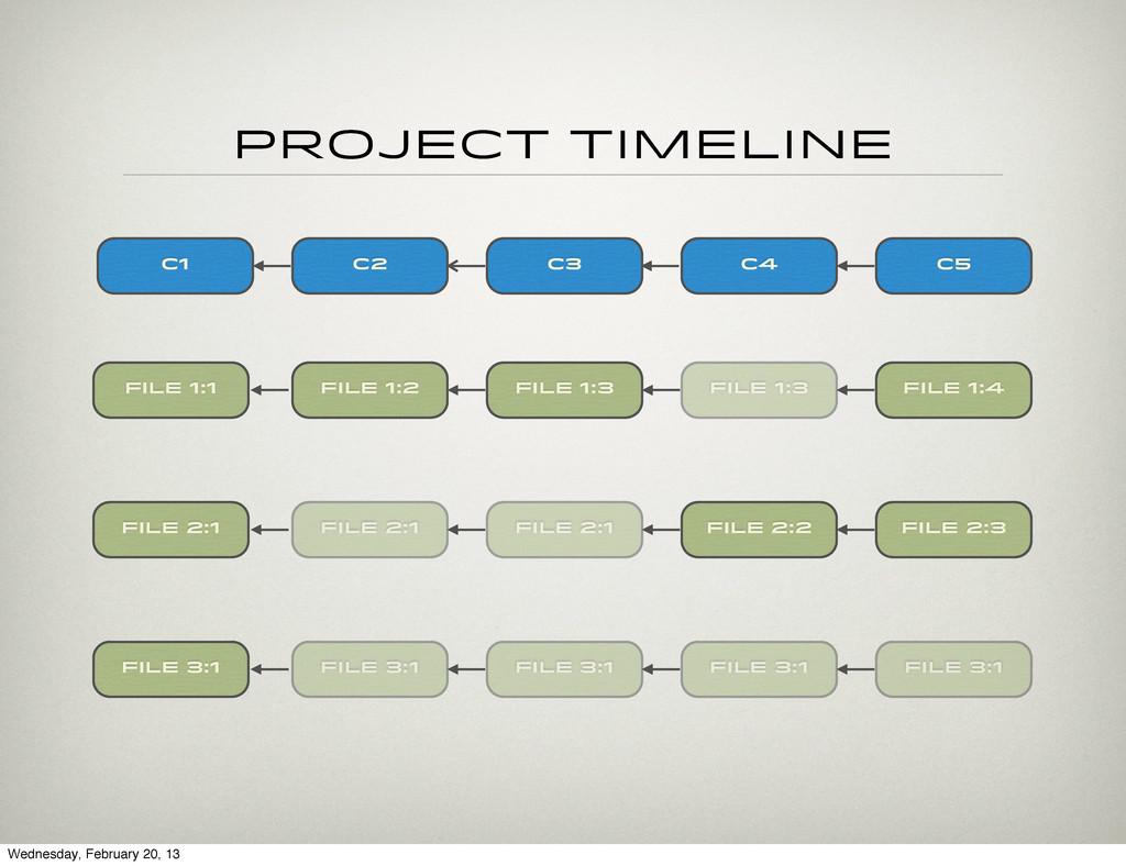 project timeline c5 File 1:1 File 2:1 File 3:1 ...