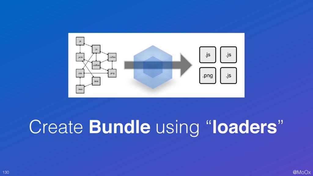 "@MoOx Create Bundle using ""loaders"" 130"