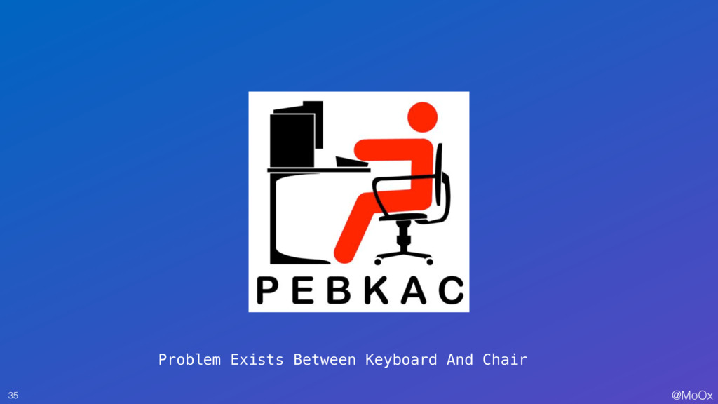 @MoOx 35 Problem Exists Between Keyboard And Ch...