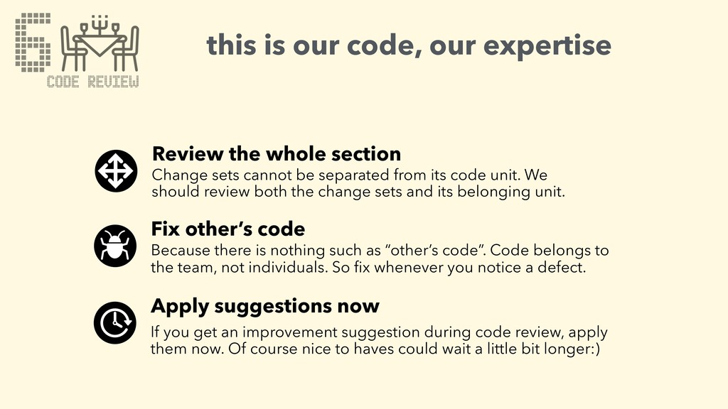 this is our code, our expertise Review the whol...