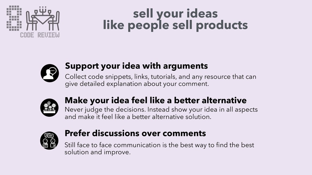 sell your ideas like people sell products Suppo...