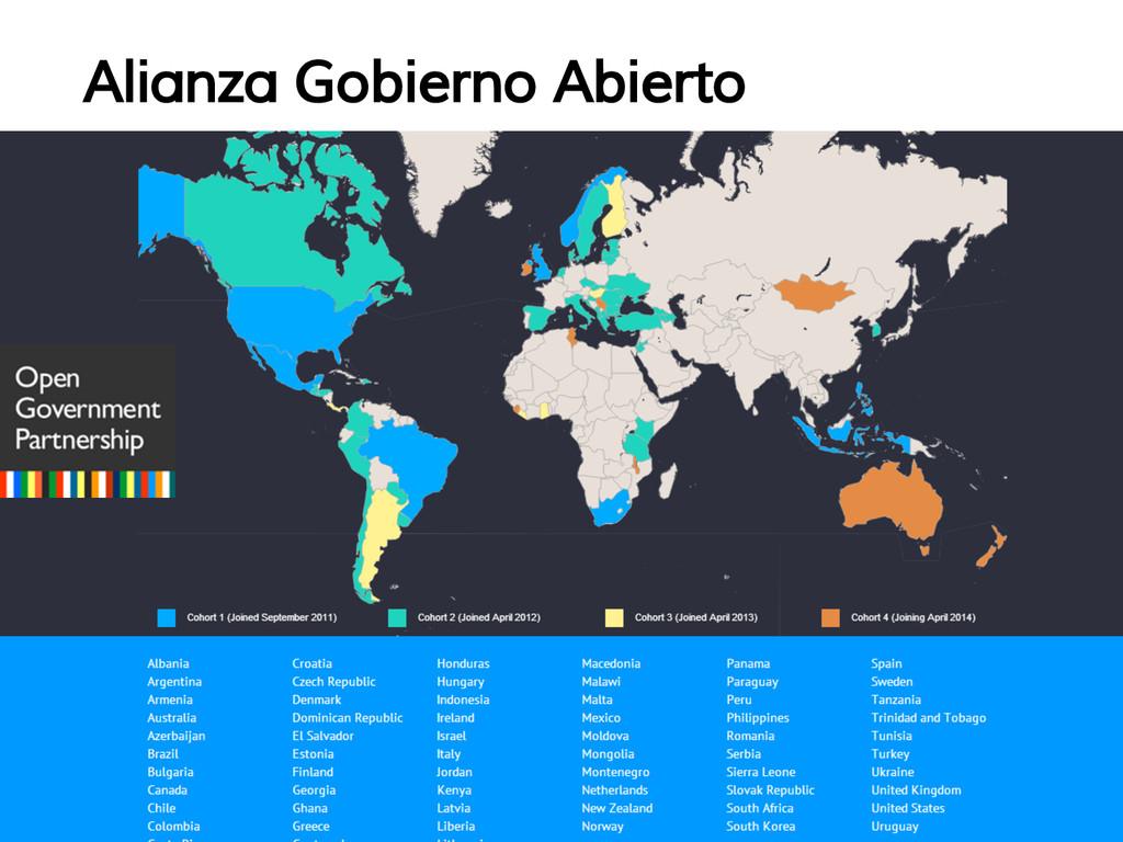 Alianza Gobierno Abierto
