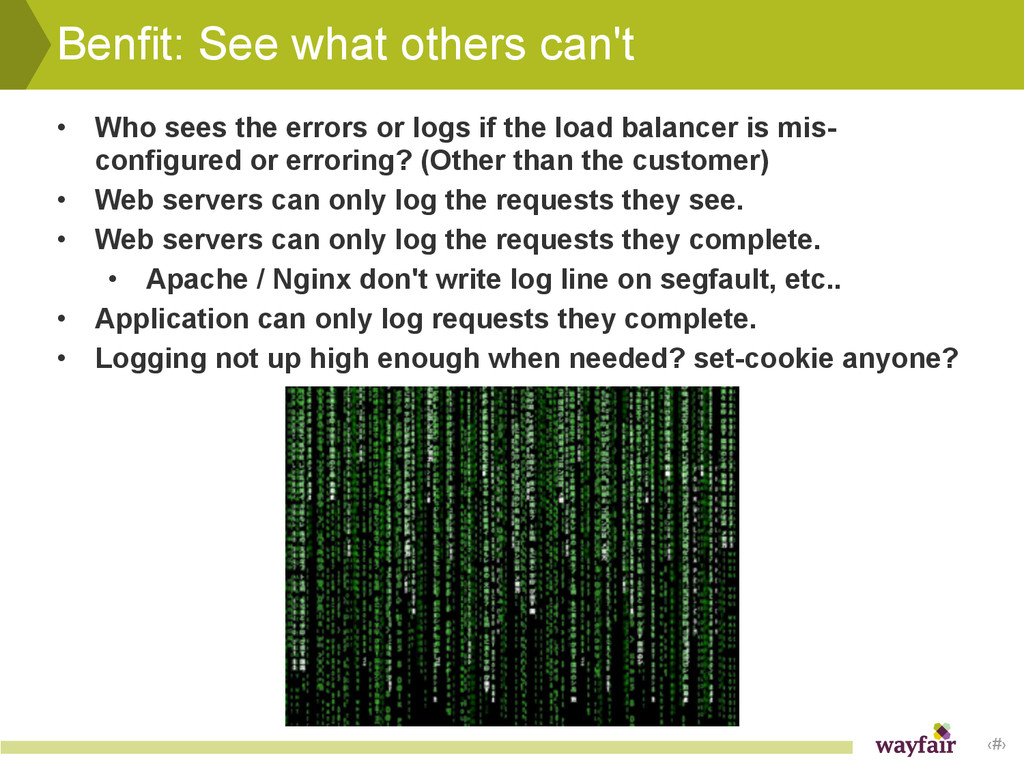 ‹#› Benfit: See what others can't • Who sees th...