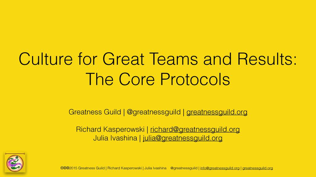 cba2015 Greatness Guild | Richard Kasperowski |...