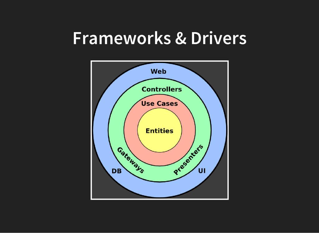 Frameworks & Drivers