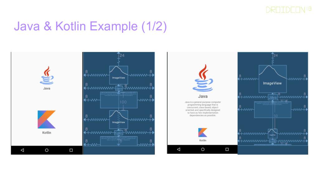 Java & Kotlin Example (1/2)