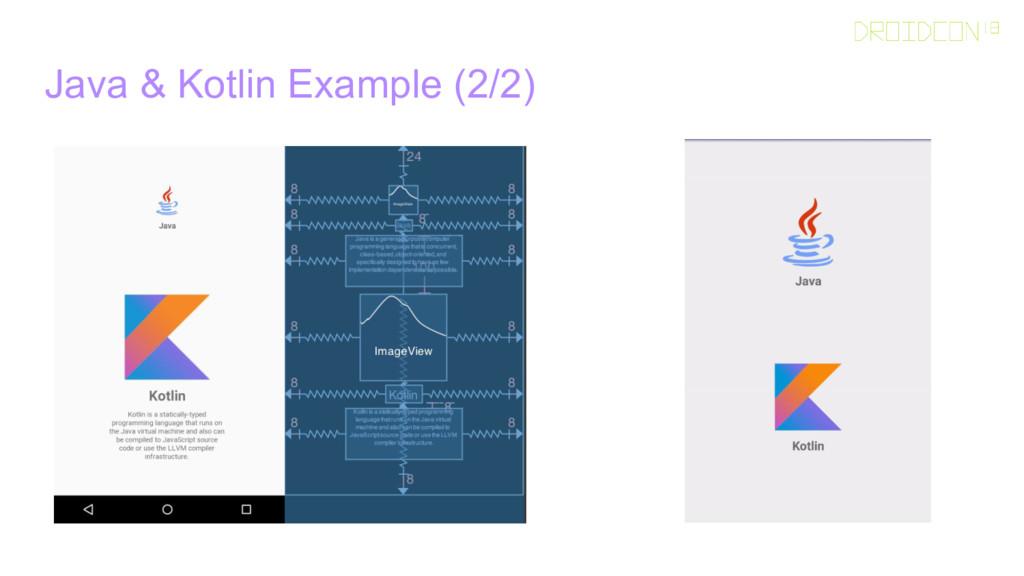 Java & Kotlin Example (2/2)