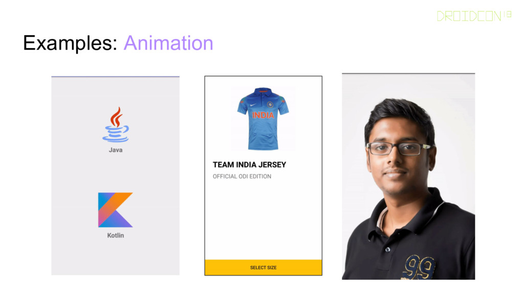 Examples: Animation