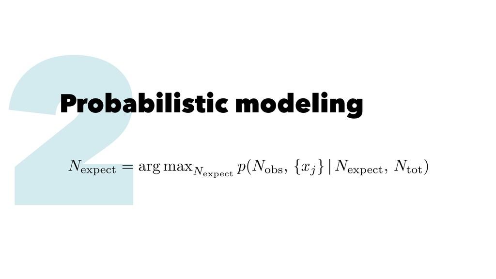 2 Probabilistic modeling Nexpect = arg maxNexpe...