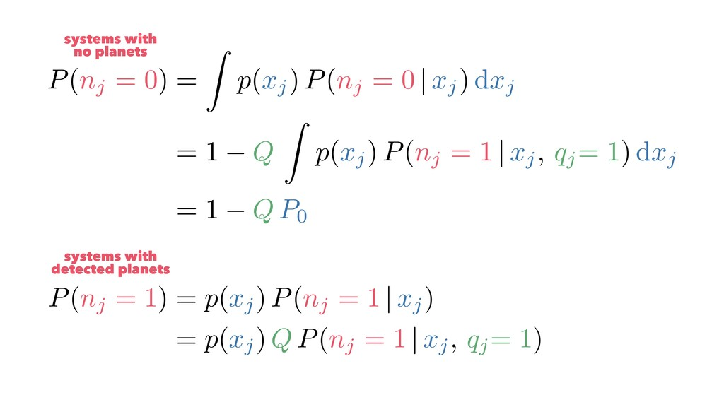 P(nj = 1) = p(xj) P(nj = 1 | xj) = p(xj) Q P(nj...