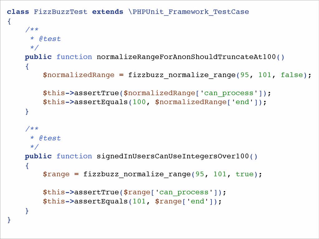 class FizzBuzzTest extends \PHPUnit_Framework_T...