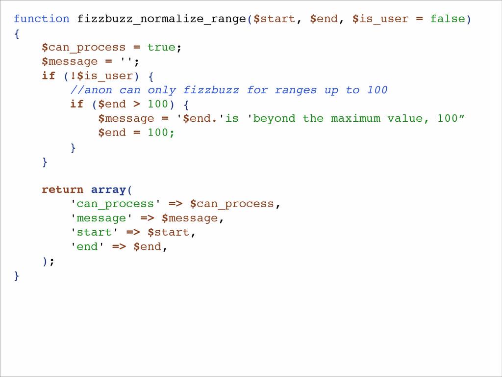 function fizzbuzz_normalize_range($start, $end,...