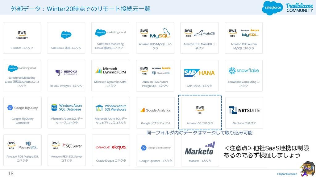 #JapanDreamin 18 外部データ:Winter20時点でのリモート接続元一覧 <注...