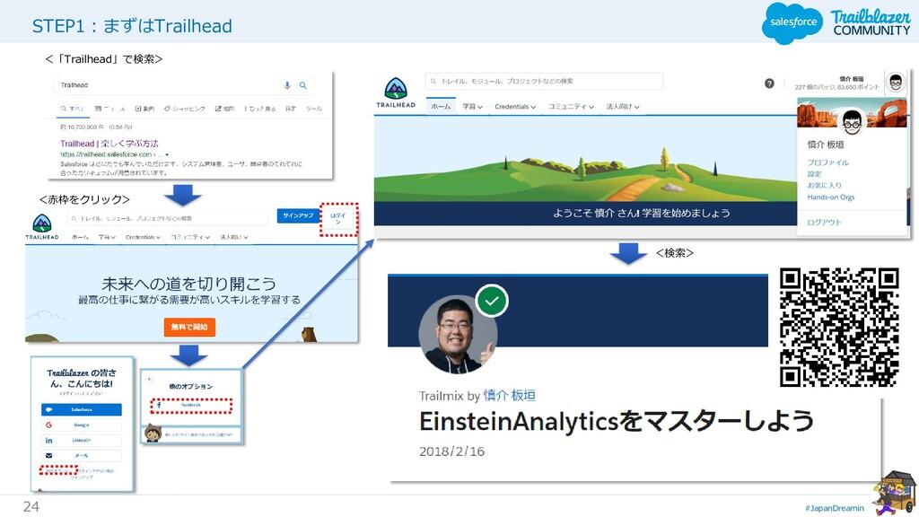 #JapanDreamin 24 STEP1:まずはTrailhead <「Trailhead...