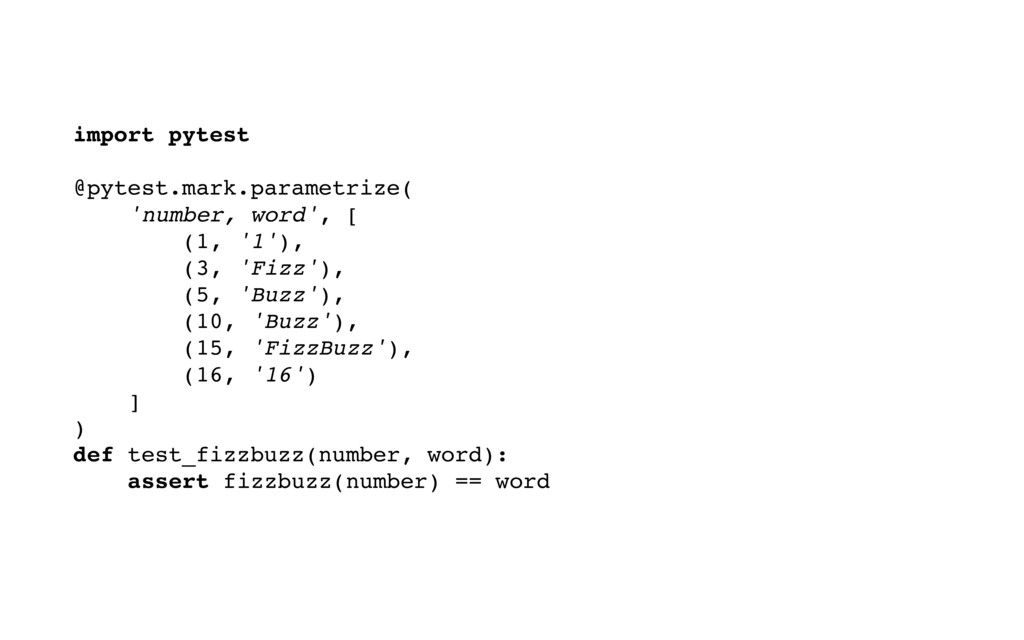 import pytest @pytest.mark.parametrize( 'number...