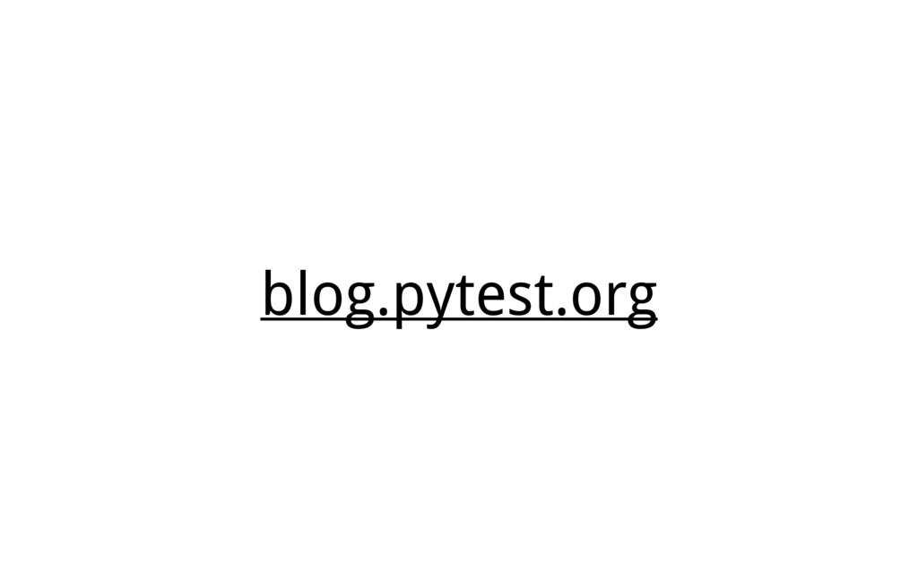 blog.pytest.org