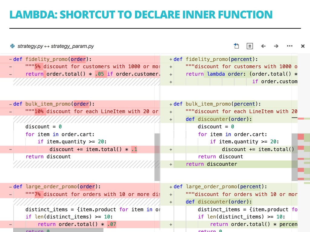 LAMBDA: SHORTCUT TO DECLARE INNER FUNCTION 87