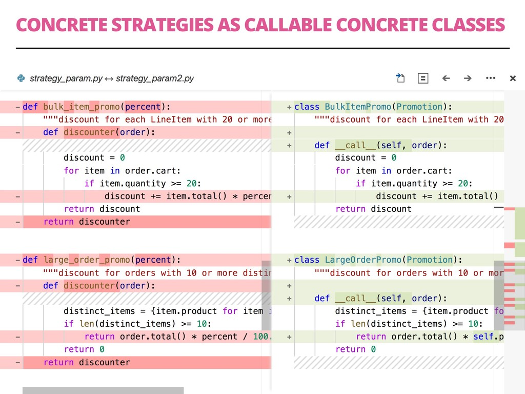 CONCRETE STRATEGIES AS CALLABLE CONCRETE CLASSE...