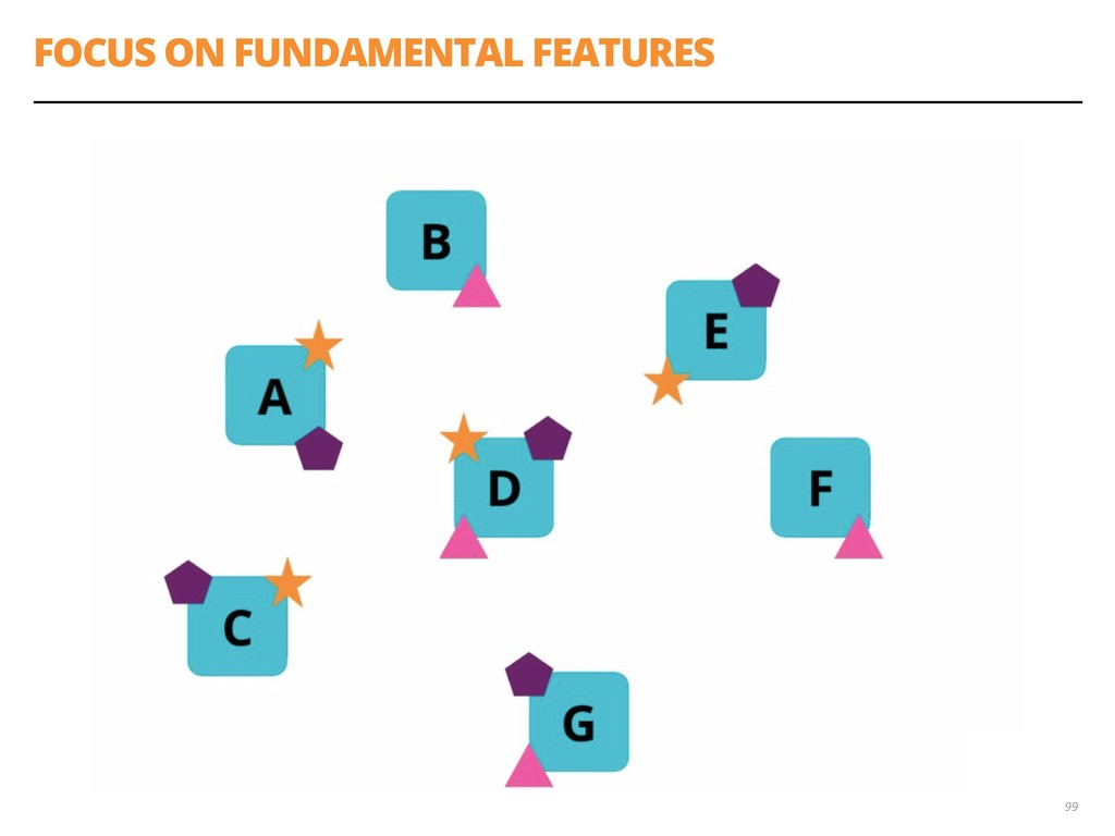 FOCUS ON FUNDAMENTAL FEATURES 99