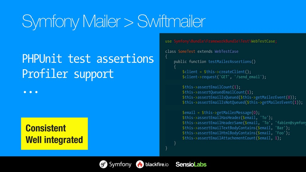 Symfony Mailer > Swiftmailer PHPUnit test asser...