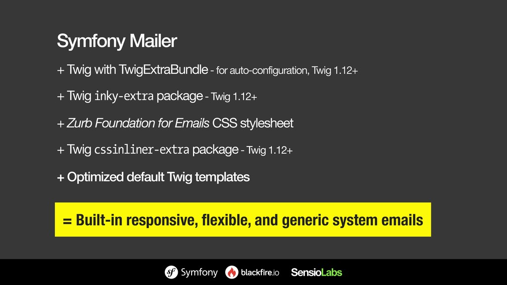 Symfony Mailer + Twig with TwigExtraBundle - fo...