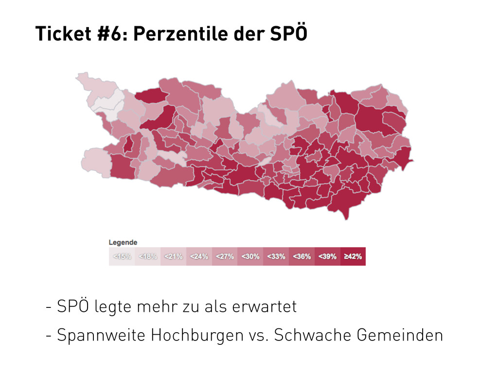Ticket #6: Perzentile der SPÖ - SPÖ legte mehr ...