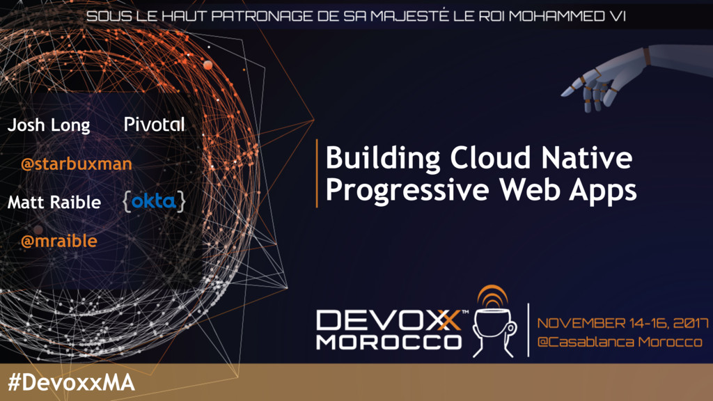 Building Cloud Native Progressive Web Apps Josh...