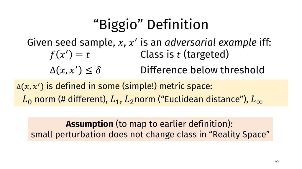 """Biggio"" Definition 45 Assumption (to map to ea..."