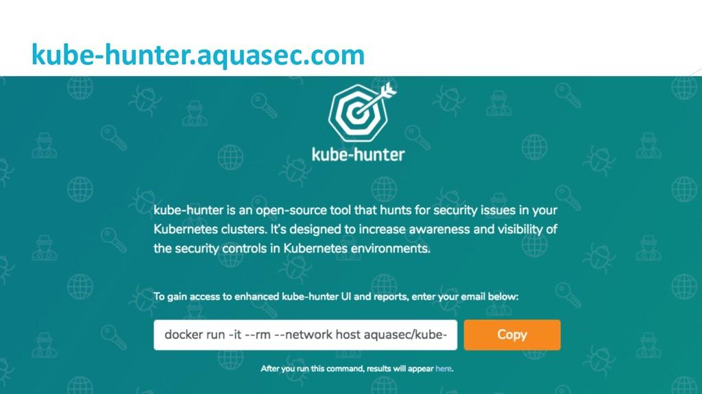 14 kube-hunter.aquasec.com