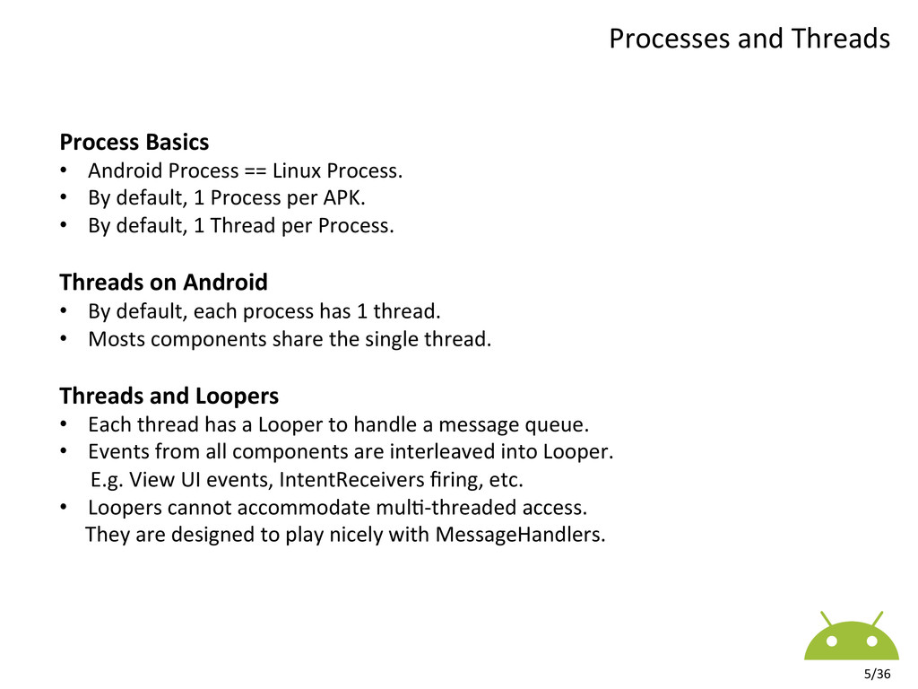 Process  Applica7on / APK Package...