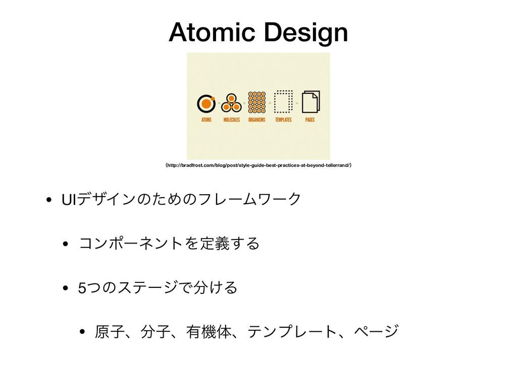 Atomic Design ʢhttp://bradfrost.com/blog/post/s...