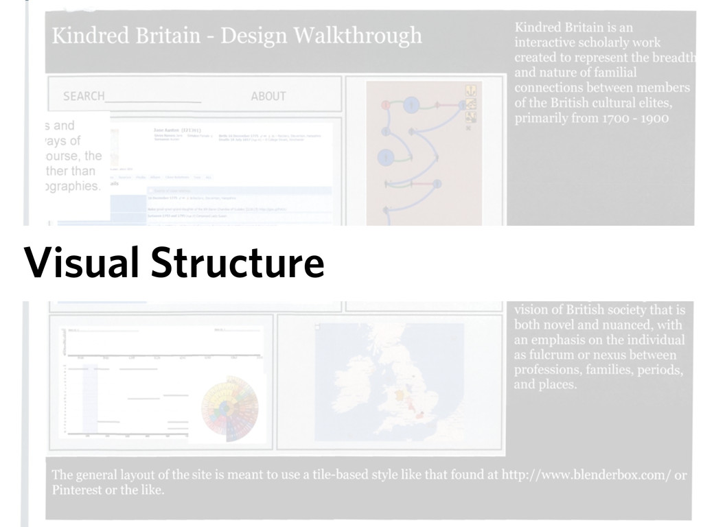 Visual Structure
