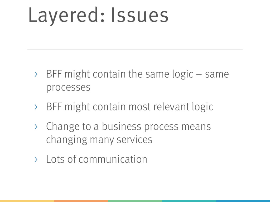 Layered: Issues > BFF might contain the same lo...