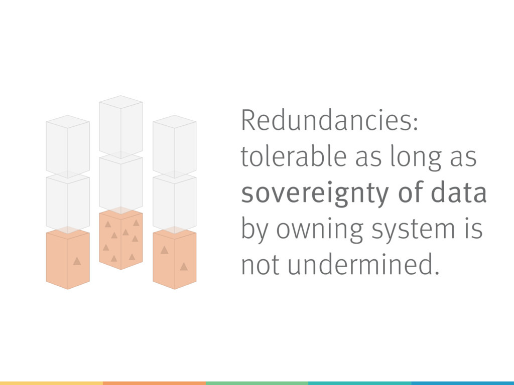 Redundancies: tolerable as long as sovereignty ...