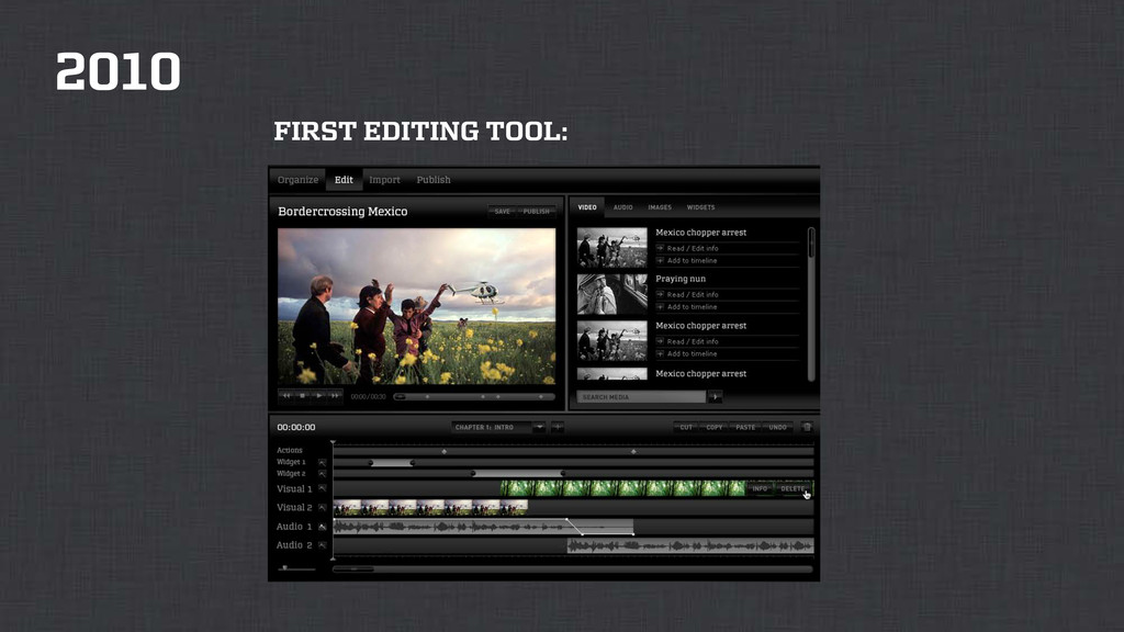 2010 FIRST EDITING TOOL: