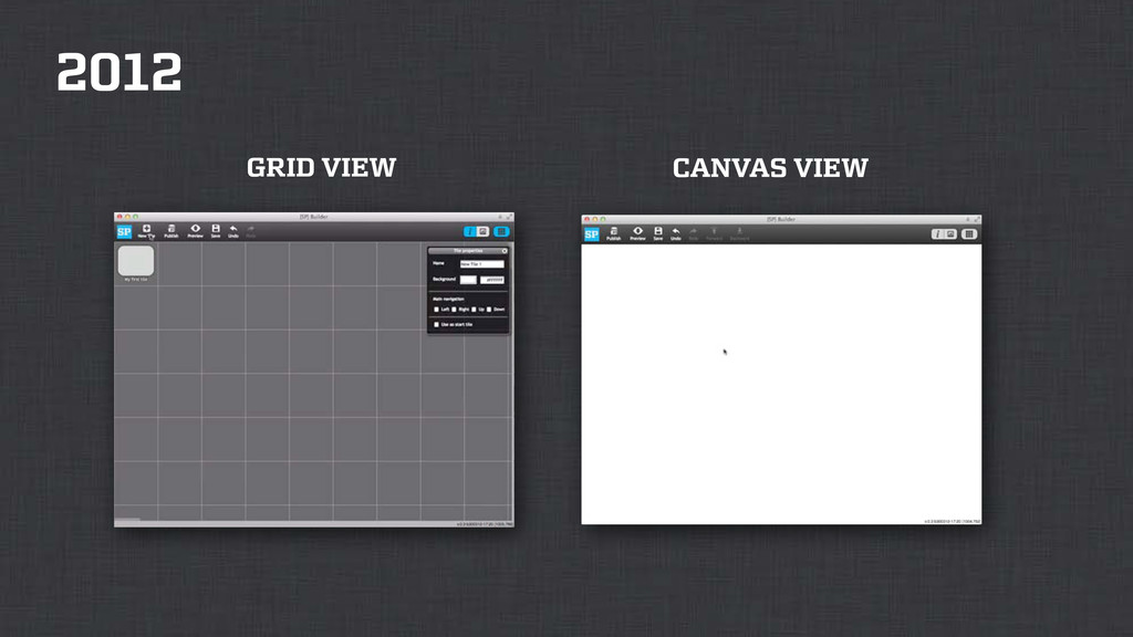 2012 GRID VIEW CANVAS VIEW