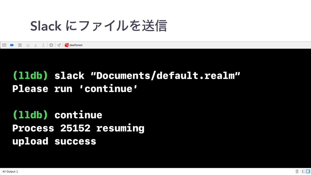 "(lldb) slack ""Documents/default.realm"" Please r..."