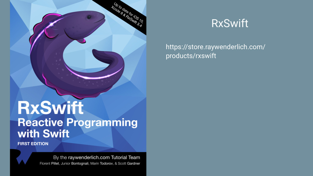 RxSwift https://store.raywenderlich.com/ produc...