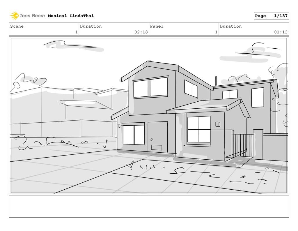 Scene 1 Duration 02:18 Panel 1 Duration 01:12 M...