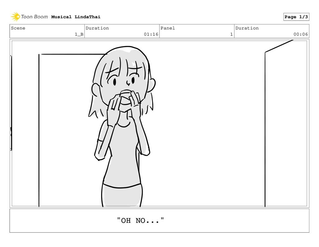 Scene 1_B Duration 01:16 Panel 1 Duration 00:06...